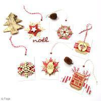 DIY Réalisez vos Etiquettes de Noël Traditionnel
