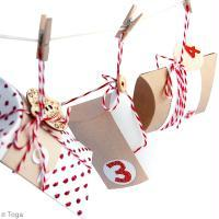 DIY Noël traditionnel : Guirlande de cadeaux
