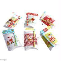 Bricolage Paquets cadeaux de Noël, au pays des jouets