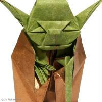 DIY Star Wars Yoda en Origami