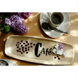 7. Le plateau Pause Café en résine Glass'100