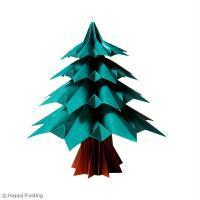 DIY Origami Sapin de Noël (vidéo)