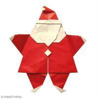 DIY Origami du Père Noël (vidéo)