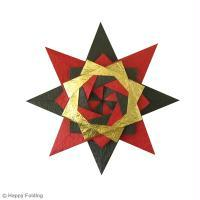 DIY Origami étoile Noël (vidéo)