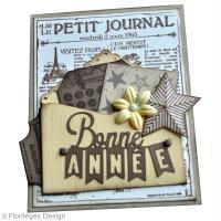 DIY Carte de voeux petit journal
