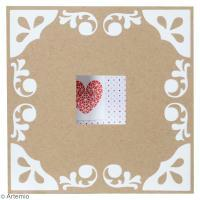 DIY Saint Valentin : Carte ajourée