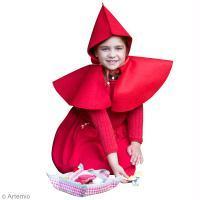 DIY Carnaval : Déguisement de chaperon rouge