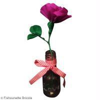 DIY Rose en papier crépon