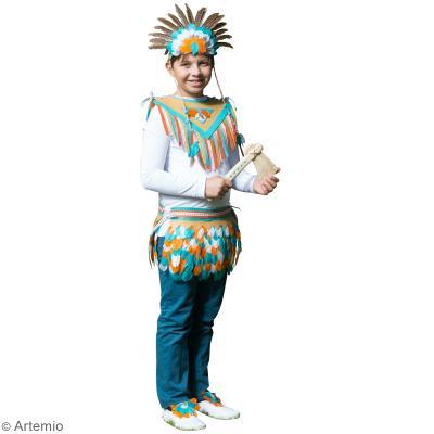 diy carnaval costume d 39 indien id es conseils et tuto masque et d guisement. Black Bedroom Furniture Sets. Home Design Ideas