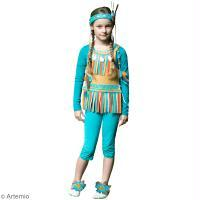 Tuto Carnaval : Costume d'indienne