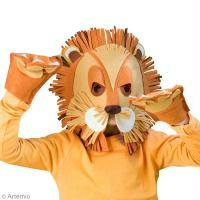 Bricolage carnaval Masque lion