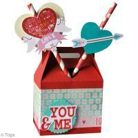 DIY Boîte à gourmandises de Saint-Valentin