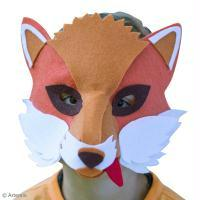 DIY Masque de renard facile à faire
