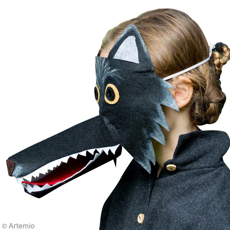 Diy masque carnaval loup id es conseils et tuto carnaval mardi gras - Modele de loup a imprimer ...