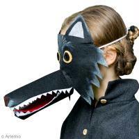 DIY Masque carnaval Loup