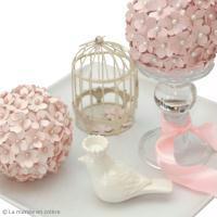 DIY Boule de fleurs en papier