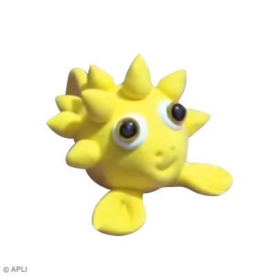 diy modelage enfant poisson jaune facile faire tutoriel vid o id es conseils et tuto. Black Bedroom Furniture Sets. Home Design Ideas