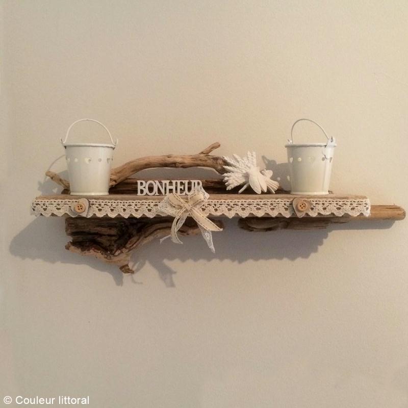 diy etag re d co en bois flott id es conseils et tuto d coration. Black Bedroom Furniture Sets. Home Design Ideas
