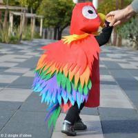 DIY Déguisement enfant facile : Perroquet tropical Ara