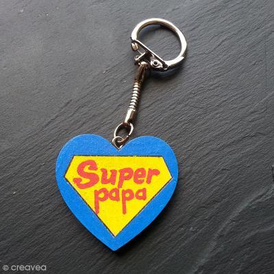 47cddc93f8a DIY Porte clés Super Papa - Idées conseils et tuto Fête des pères