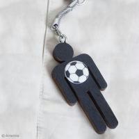 DIY Facile : Porte-clé papa footballeur