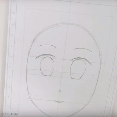Tuto dessin manga croquis d 39 une t te de personnage id es conseils et tuto beaux arts dessin - Image de personnage de manga ...