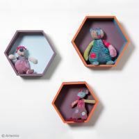 DIY Rangement : Etagères hexagonales