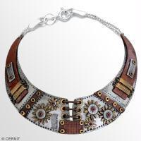 Tuto bijou : Fabriquer un collier steampunk avec la pâte à modeler Cernit !