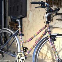 Customiser son vélo avec du papier Décopatch (DIY vidéo)