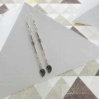 DIY Boucles d'oreilles pendantes style romantique