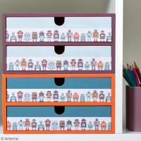 Personnaliser des petits tiroirs de rangement