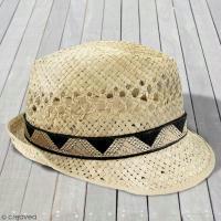 DIY facile : Customiser un chapeau en paille version bohème chic !