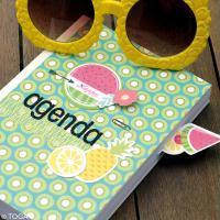 DIY Scrapbooking : Agenda Summer
