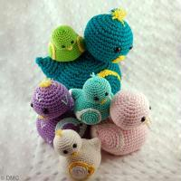 DIY Canetons au crochet