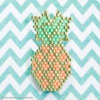 2. Réaliser un ananas Brick Stitch : Le diagramme
