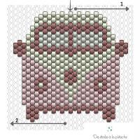 2. Fabriquer un Combi / Van en perles Miyuki : Le diagramme