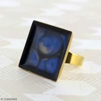 DIY bijou facile : Bague prisme