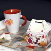 DIY Scrap : Boîte à thé automnale