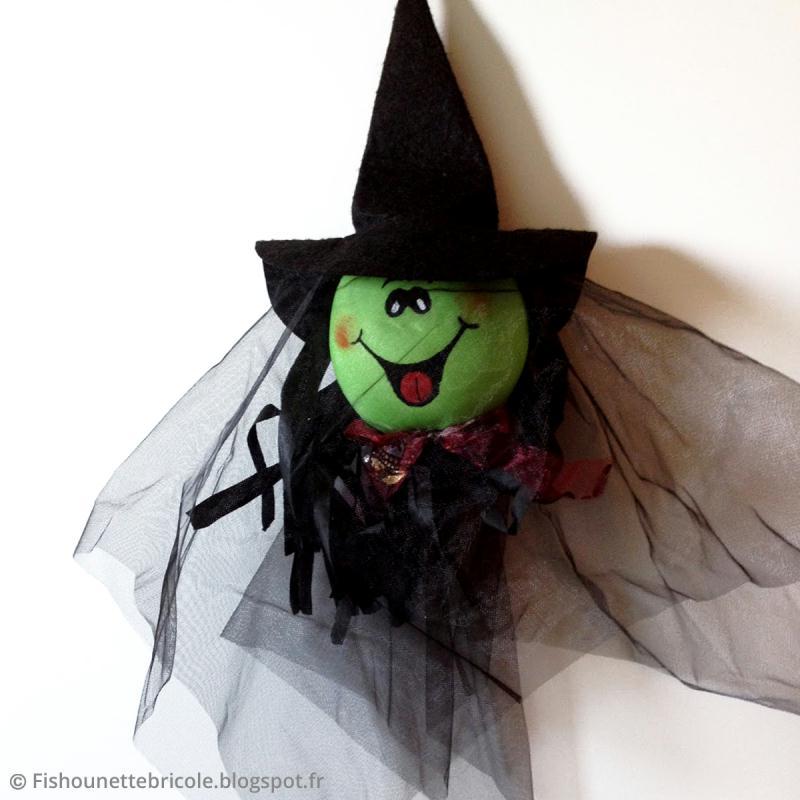 Bricolage De Sorciere D Halloween.Bricolage Halloween Sorciere A Suspendre Idees Conseils Et Tuto Halloween