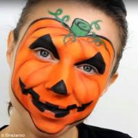 Tutoriel Halloween : Maquillage Citrouille (tuto vidéo)
