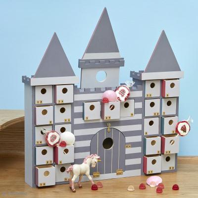 Tuto no l facile calendrier de l 39 avent chateau id es - Faire un calendrier de l avent facile ...