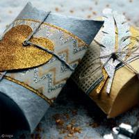 DIY Noël : Boîtes emballages cadeaux pour Noël
