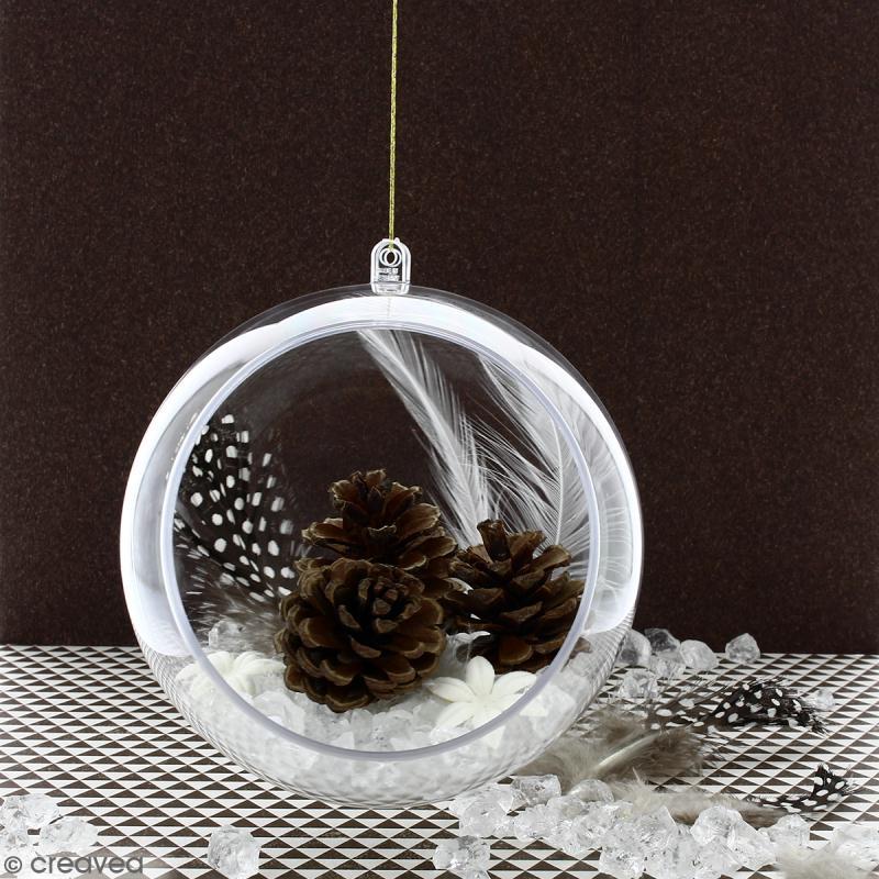 DIY Déco facile : Suspension boule pour Noël magique   Idées