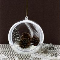 DIY Déco facile : Suspension boule pour Noël magique
