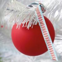 Tuto Facile : Boules de Noël colorées