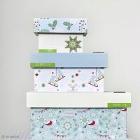 Tuto facile : Décorer des boîtes cadeaux pour Noël