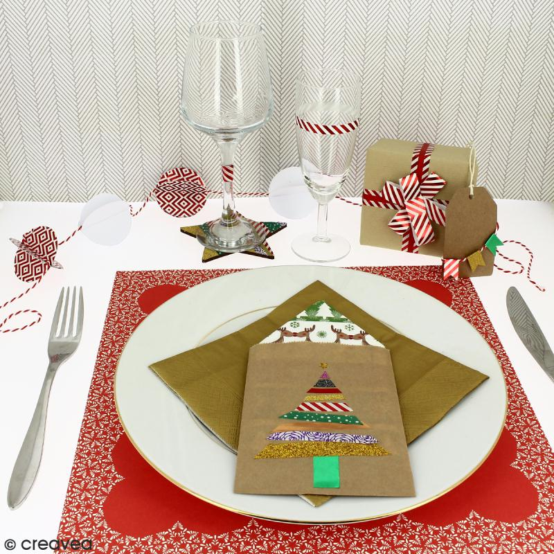 Diy d coration de table de no l faire soi m me id es - Decoration de noel pour table a faire soi meme ...