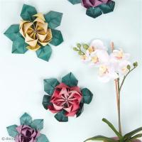 DIY vidéo : Fleurs lotus en origami