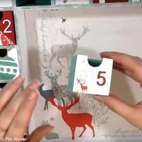 Tuto Calendrier de l'avent Solstice d'hiver et Cerf (vidéo)