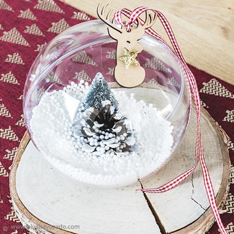 DIY Boule décorative transparente pour Noël   Idées conseils et